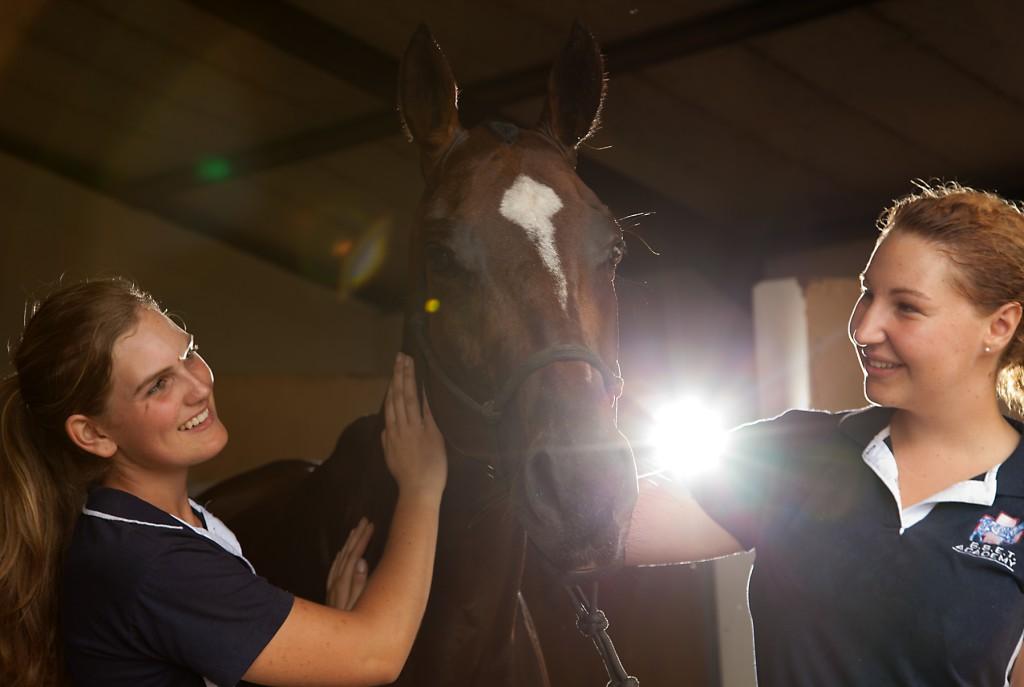 bset academy 2 girls horse